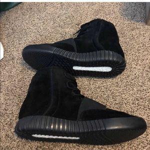 Adidas Yeezy Boost 75 Triple Black Size
